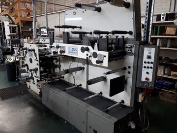 UK Supplier Of Used FOCUS F250 Flexo Label Presses
