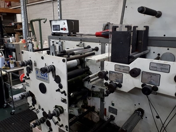 Distributor Of Used FOCUS F250 Flexo Label Presses