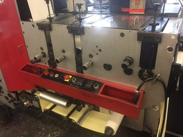 Distributor Of Used EDALE ALPHA, 4 Colour Flexo Label Presses