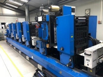 UK Supplier Of Used GALLUS TCS250 Offset Label Press