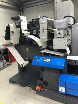 Distributor Of Used GALLUS TCS250 Offset Label Press