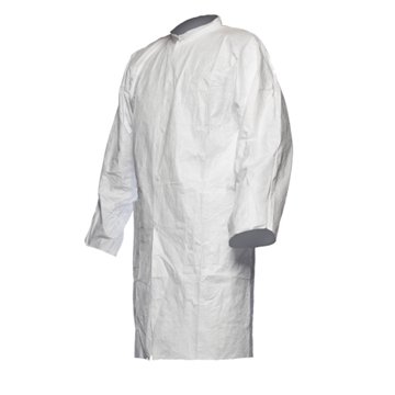 Tyvek 500 Labcoat With Press Studs And Pockets