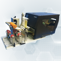 Specialist Supplier Of GoDEX AG1000F / AG1060F Semi-Automatic Bottle Labellers