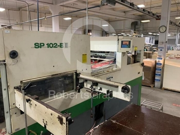 Supplier of Used Die Cutter Machine1998 BOBST SP 102 E11