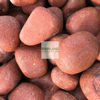 100-150mm Agra Red Cobbles