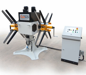 CMCX Series Double Head Decoilers