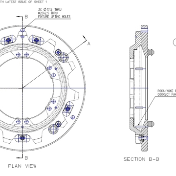 Full Design Facility For Fixturing Requirements