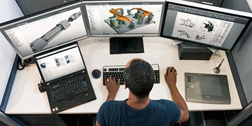 Siemens NX Design Services In Staffordshire