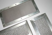 EMI Screened Vents With Expanded Aluminium Mesh