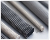 Knitted Wire Mesh With Elastomer Core