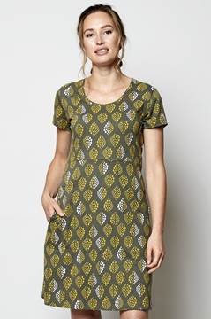Flared Organic Cotton Tunic Dress