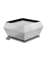 DVEX 560D6 3-phase small airflow ATEX centrifugal roof fan rated 5,820m³/h