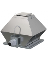 DVG-H 400D4-XS/F400. Centrifugal 3-phase roof fan 120°C continuous, Max 400°C/2h, horizontal discharge. 3,850m³/h