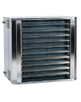 Frico SWXEX22 Hot water-fed ATEX Fan heater 4150m³/h  for dusty or corrosive environments. Full output 60/40 °C, air +15 °C = 22.6kW.