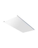 Frico SZR300PP (893W) water-heated radiant heater recessed version for false ceilings 3000 x 595mm