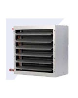 MDA+ 231EC for heating (42kW) and cooling, incl. drip tray, nominal cooling capacity 10.5 kW