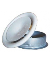 TFFC 160 is a circular supply air valve for ceiling installation, 160mm diameter, RAL9016