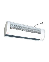 Thermozone ADA120H ambient air curtain for openings to 2.5m high, 900mm wide