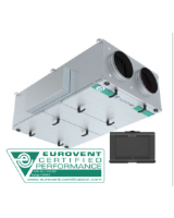 Topvex FR11-L-CAV heat exchanger with noheater, constant air volume control. 5,400m³/h