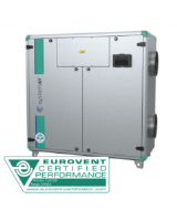 Topvex SC04 EL-L-CAV heat exchanger with 7.5kW, 3-phase electric heater, constant air volume control. 2,405m³/h