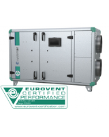 Topvex SR03EL-R-CAV Ventilation unit with 3kW 3-phase electric heater and constant volume air control. 1,800m³/h