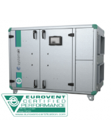 Topvex SR06 HWH-L-CAV Ventilation unit with LPHW heater and constant volume air control. 2,160m³/h