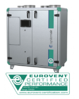 Topvex TR03-R-CAV Heat exchanger with no heater, constant air volume control. 1,550m³/h