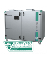 Topvex TR06 HWH-L-CAV Heat exchanger with LPHW heater, constant air volume control. 2,800m³/h