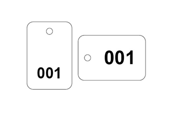 UK Supplier Of Numbered Plastic Tags