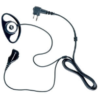 D-Shell PTT in-line and push-to-talk microphone Earpiece