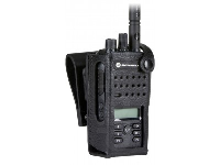 """Specialist Supplier Of Motorola Hard Leather Carry Case with 2.5""""  for Display Radio"""