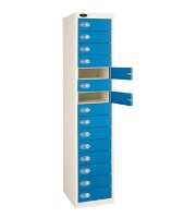 15 Doors Personal Effects Locker- Larger compartment