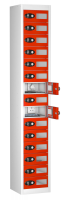 Vision Panel 15 Compartment Mobile Phone Charging Locker