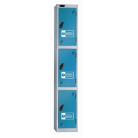 Three Compartments PPE locker