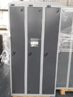 1 Compartment Locker -  Nest of 3 (3 compartments)