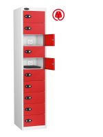 10 Compartment Mobile Phone Charging Locker