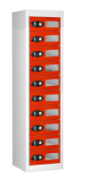 Vision Panel 10 Compartment Mobile Phone NON Charging Locker