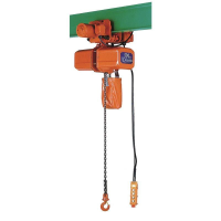 Nitchi ECE4 Electric Chain Hoist With Electric Trolley 400V