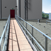 Handrails For Roof Edge Protection