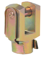 Fork c/w Clips for ISO 15552 C yl 80mm
