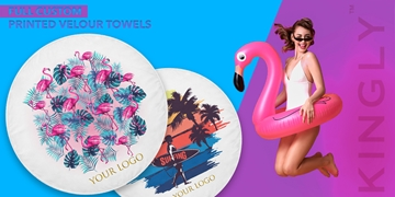 Customized beach towels by Kingly