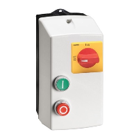 Lovato L-Starter DOL Starter Isolator 7.5kW Start/Stop 18A 230VAC Coil IP65 Insulated Enclosure