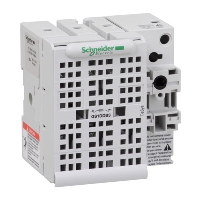 Schneider TeSys GS 32A 3 Pole Fuse Switch for Base Mounting Switch mechanism on right hand side