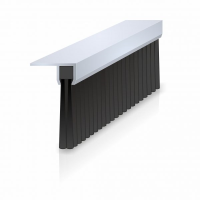 Lath Brushes with 90 degree Aluminium Carrier