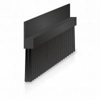 Lath Brushes with 180 degree Plastic Profile