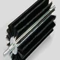 Axial Strip Roller Brushes with Aluminium Core