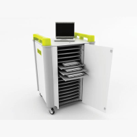 LapCabby 16H - Laptop Store & Charge Trolley - 16 Laptops