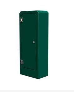 British Manufactured Bespoke High Quality Single Door GRP Electrical Cabinets