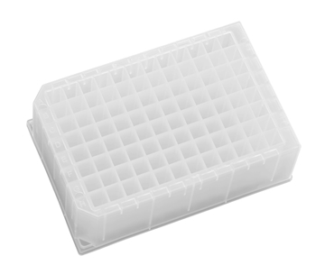Suppliers Of Sterile Polypropylene Deep Square Well   Square Bottom (350 µl)