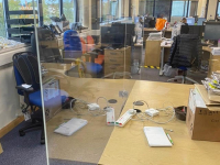 Perspex Office Screens Lincolnshire